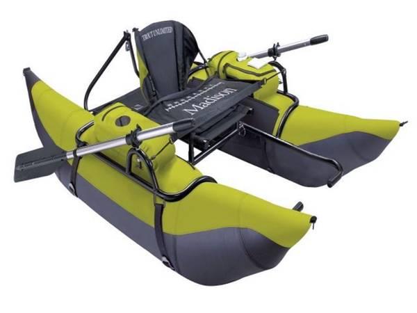 Photo Trout Unlimited Madison Pontoon boat - $250 (Near Pawnee Lake)