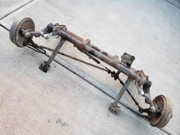 Photo Vw kingpin front beam baja bug - $200 (Fort Collins)