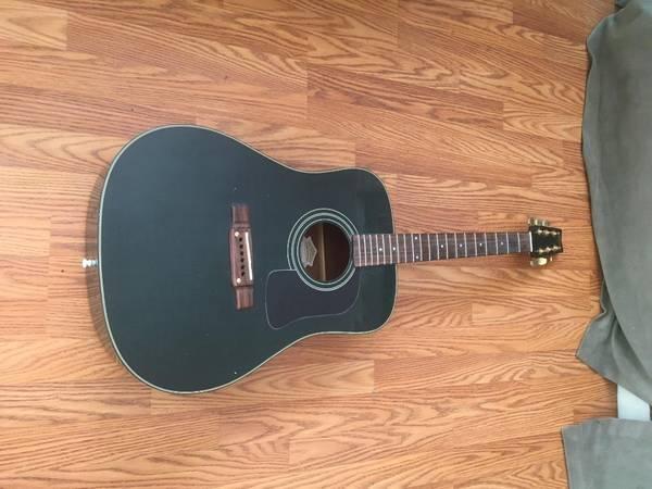 Photo Washburn Acoustic Guitar - $100 (LaPorte)