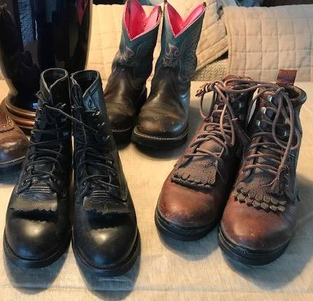 Photo Women39s Ariat and Justin Western Boots, size 6.5B and 7B - $20 (Greeley)
