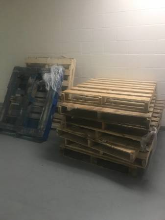 10 Wood Pallets Free (Danbury) | Free Stuff | North West ...