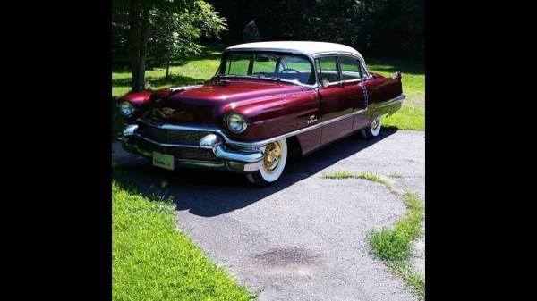 Photo 1956 Cadillac 60S dual quad ac Sabre wheels - $20000 (Colebrook)