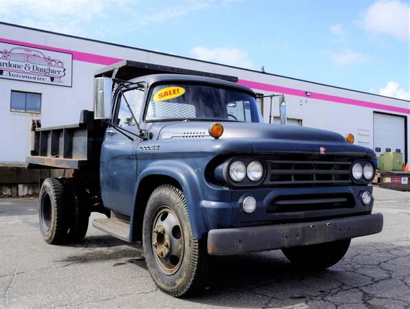 Photo 1959 Dodge 400 Dump Truck - $7,500 (Old Saybrook)