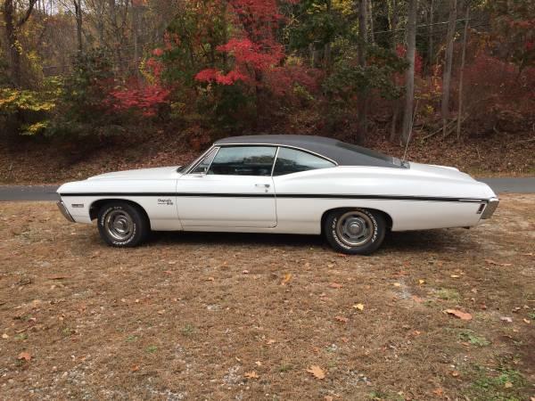 Photo 1968 Impala SS 327 turbo 400 automatic - $14,500 (Winsted)