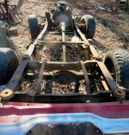 Photo 1973-1979 Ford F100150 2x4 frame - $250 (Winsted)