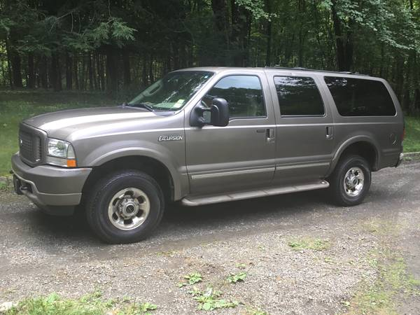 Photo 2003 Ford Excursion, 7.3 Diesel - Limited Edition 4x4, 97,000 Miles - $21,000 (Newtown)