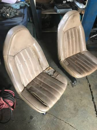 Photo 73-77 SWIVEL SEATS CHEVELLE GTO LAGUNA CUTLESS MONTE CARLO EL CAMINO (North Canaan, CT)