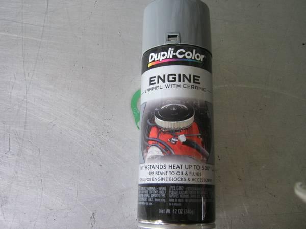 Photo CHEAP CHEAP DUPLICOLOR 12 OZ FORD ENGINE PAINT NEW DE1611 PAID 6.99 - $3 (OAKVILLE,CT)
