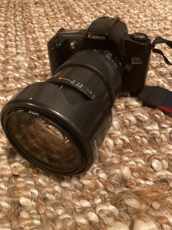 Photo Canon EOS Rebel G Film Camera - $120 (New Preston Marble Dale)