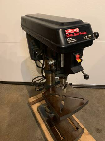 Photo Craftsman Drill press - $150 (Thomaston CT)