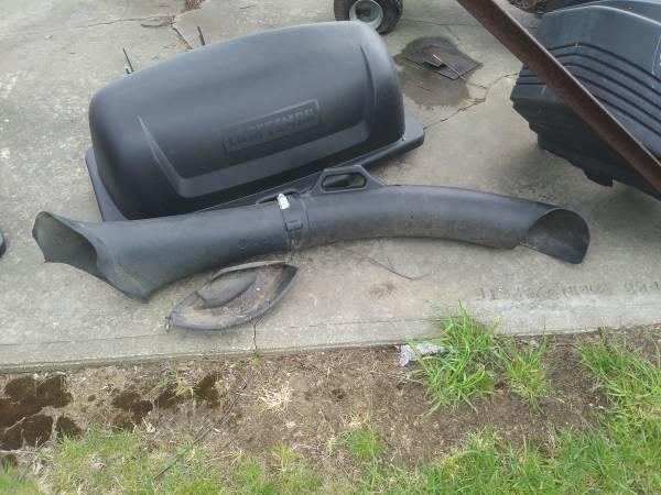 Photo Craftsman Garden Tractor 3 Bin Baggers - $250 (Goshen CT)