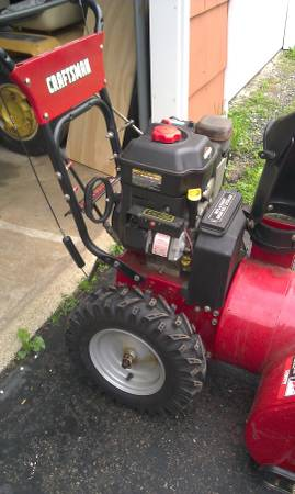Photo Craftsman, Snow Thrower, Will Trade for a wood chipper (sandy hook)
