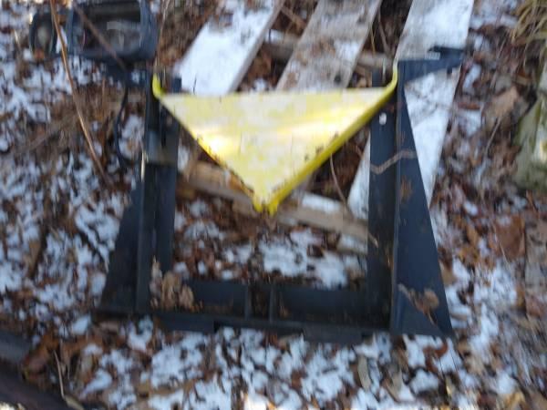 Photo Fisher plow frame - $75 (Bethlehem CT)