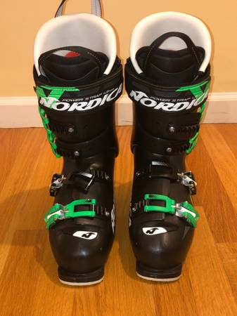 Photo Nordica GPX 120 Mens Ski Boots Size 27 27.5 315 mm slightly used - $199 (Danbury)