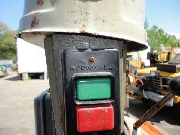 Photo Rockwell Floor Type Drill Press - $450 (East Longmeadow)
