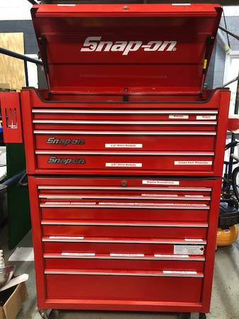 Photo SNAP ON TOOL BOX WITH TOOLS - $6,500 (SHARON)