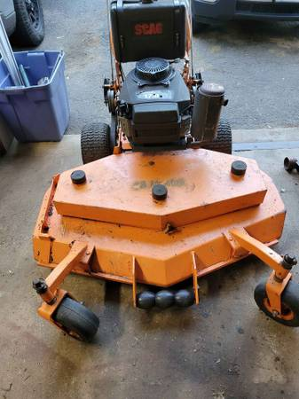 Photo Scag 48quot commercial mower walk behind - $600 (Plymouth CT)