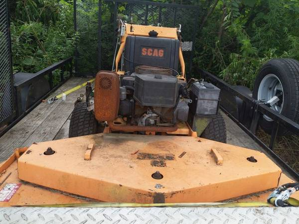 Photo Scag 61 inch commercial walk behind tractor - $1,000 (Thomaston CT)
