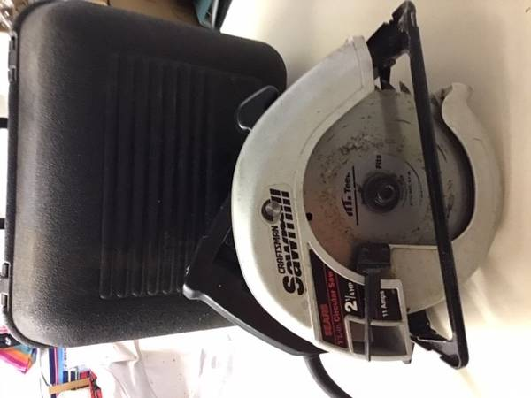 Photo Sears Craftsman Sawmill Industrial 7 14quotCircular Saw, 13 AMP,2 34 HP - $20 (Woodbury)