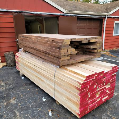 Photo Solid 84quot Black Walnut Wood  Ambrosia (Wormy Maple Wood for sale (Tri-state)