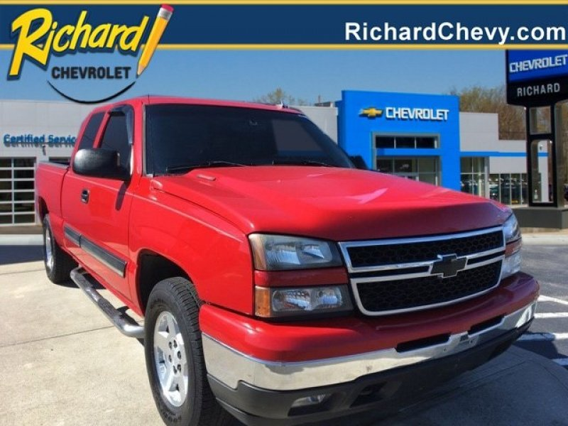 Photo Used 2007 Chevrolet Silverado 1500 4x4 Extended Cab for sale