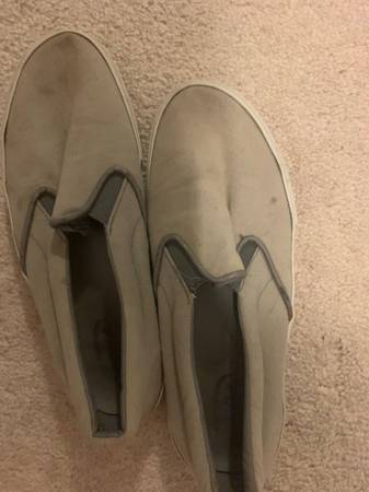 Photo Well worn grey slip on - $40 (Torrington)