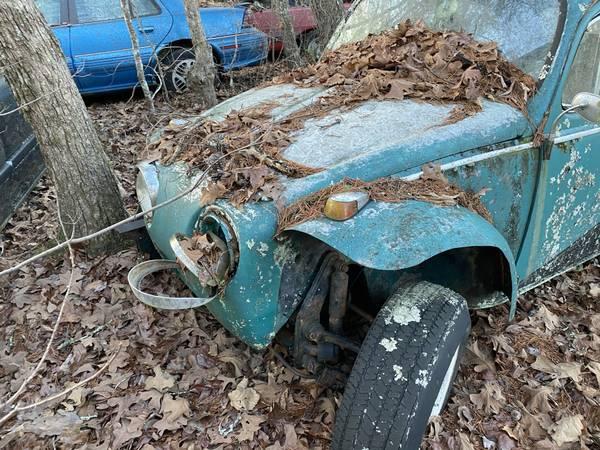 Photo 1961 VW Beetle Baja Bug Street Bug project - $1,200 (Blue Ridge)
