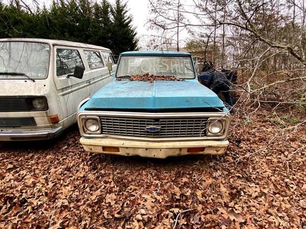 Photo 1968 Chevy C10 Pickup - $1,200 (Blue Ridge)