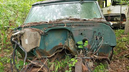 Photo 1972 Chevy K5  GMC Jimmy Blazer shell - $500 (Blue Ridge)