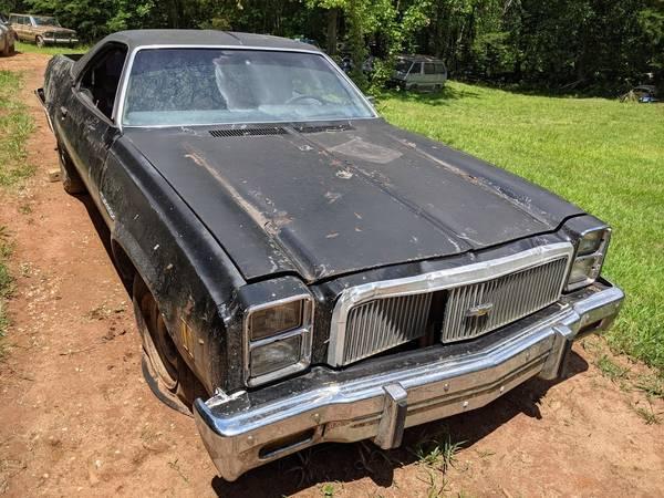 Photo 1977 Chevy El Camino - $1,500 (Blue Ridge)