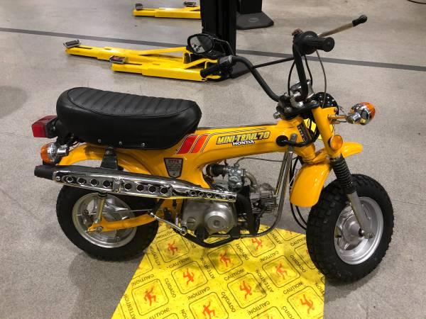 Photo 1979 Honda CT70 - $2,400 (Decatur)