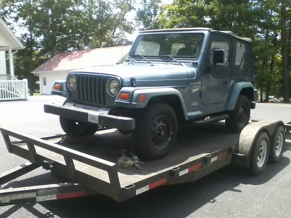 Photo 1997 Jeep Wrangler TJ Sport - $4,500 (Culberson, N.C.)