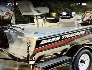 Photo 75HP MOTOR FISHING BOAT FOR SALE 80lb ultrex installed - $800 (McDonough GA)