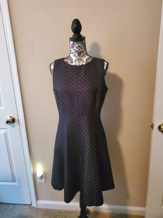 Photo American Living Black Silver Dress 12 - $25 (Stonecrest)