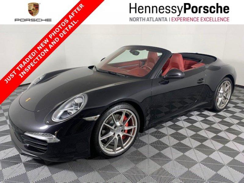 Photo Certified 2012 Porsche 911 Carrera S Cabriolet for sale