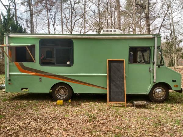 Photo Chevrolet Step Van Food Truck - $12,500 (Ellijay)
