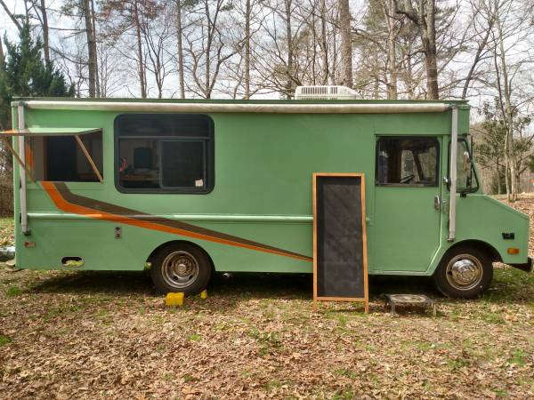 Photo Chevrolet Step Van Food Truck - $17,000 (Ellijay)