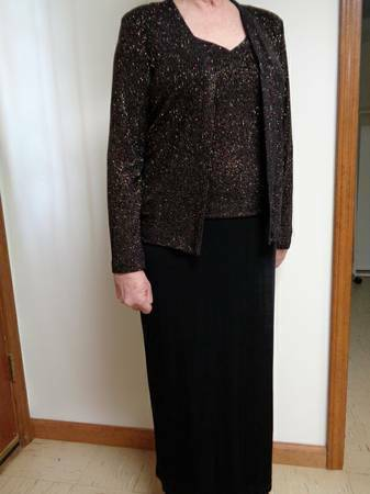 Photo Dress, Long, size 12 - $55 (snellville)