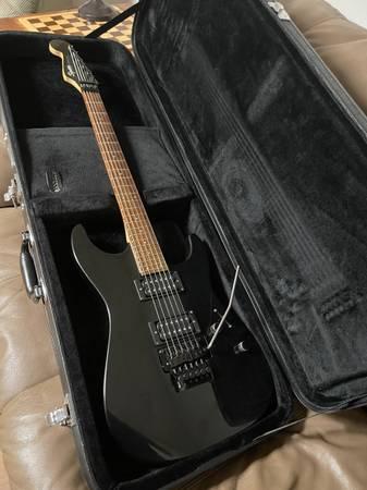 Photo Fender Stagemaster Black Reverse Headstock - $300 (Rome, Ga)