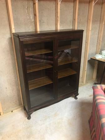 Photo Glass front display case - $400 (Blue Ridge)