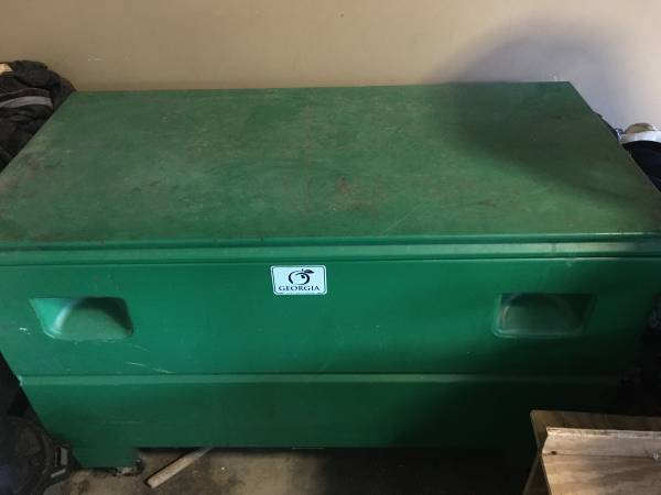 Photo Greenlee Job Box - $275 (Calhoun)