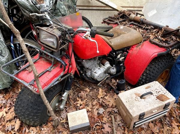 Photo Honda Big Red Three Wheeler ATV - $1,200 (Blue Ridge)