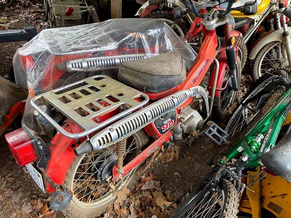 Photo Honda Trail 90 and 110 Bikes - $1 (Blue Ridge)