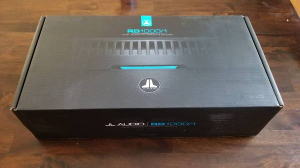 Photo JL Audio RD1000 - $480 (Buford)
