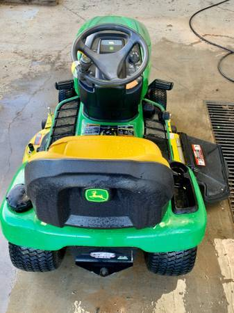 Photo John Deere X300 Riding Lawn Mower Tractor 48quot Used - $1,895 (CALL JUSTIN 706-506-5069)