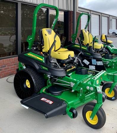 Photo John Deere Z930M Zero Turn Lawn Mower 60quot Tweels New - $10,199 (Rome)