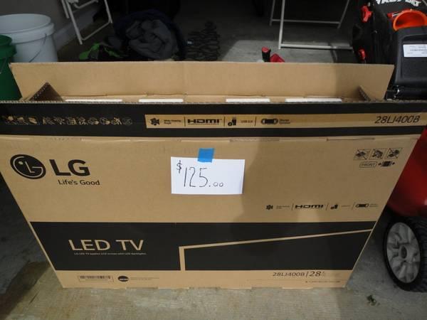 Photo LG led tv 28 inch new - $125 (Calhoun)