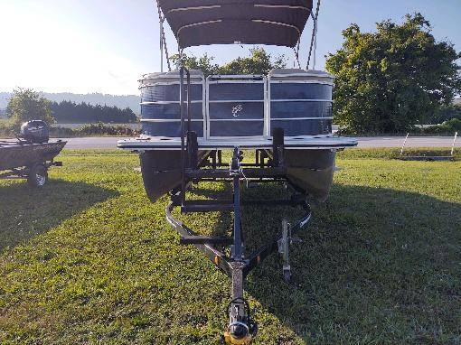 Photo LOOK USED CYPRESS CAY PONTOON SEABREEZE - $20,995 (CALL CASEY  828-713-7694)