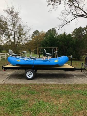 Photo NRS Fishing Raft - $7,700