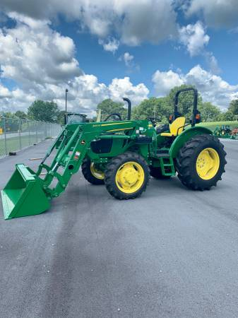 Photo New John Deere 5065E Tractor Front Loader - $41,000 (Rome)